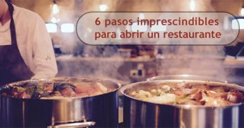 abrir un restaurante