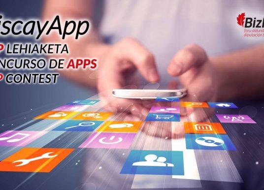 El concurso de aplicaciones móviles BiscayApp vuelve pisando fuerte