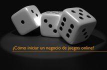 negocio de juegos online