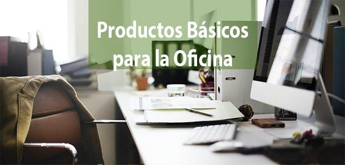 productos básicos oficina