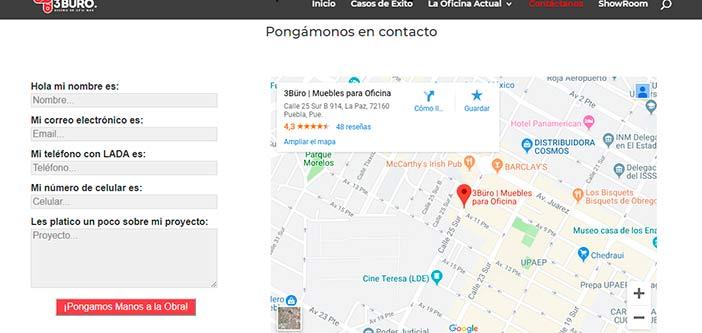 Usar Google Maps para web de empresa