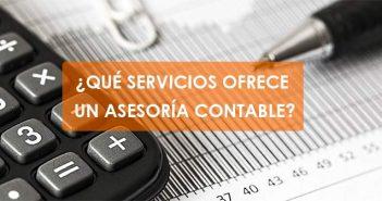 servicios que ofrece una asesoría contable