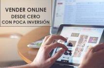 vender online desde cero con poca inversion