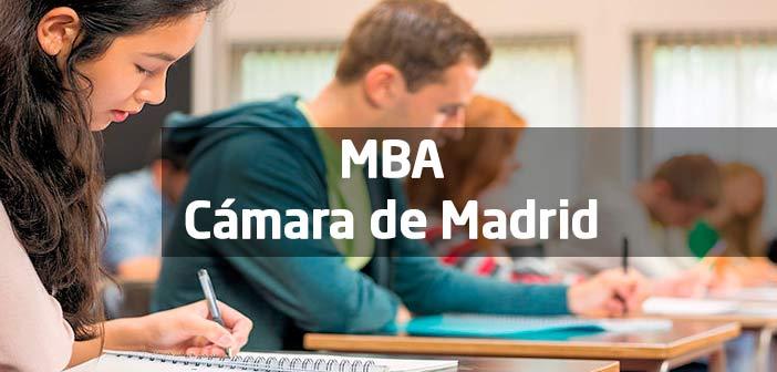 MBA de la Cámara de Madrid