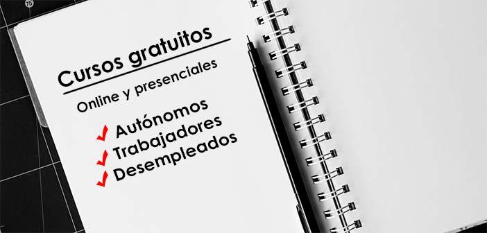 cursos gratuitos online para trabajadores, desempleados y autónomos