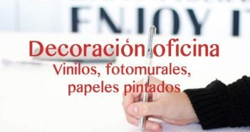 vinilos, fotomurales y papeles pintados para oficina