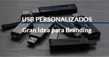 memorias USB personalizadas para hacer branding