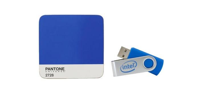 USB personalizado del color de la marca