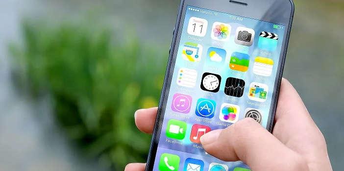 telefono con apps negocios