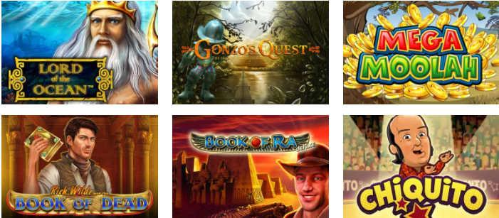 distintos juegos slots gratis