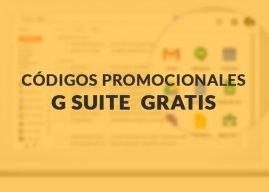 Código Promocional G Suite GRATIS en Desamark