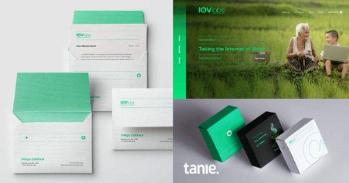 material gráfico empresa para crear marca