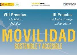 VIII Edición de los Premios Movilidad Sostenible