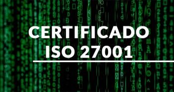 Portada rotulo certficado ISO 27001