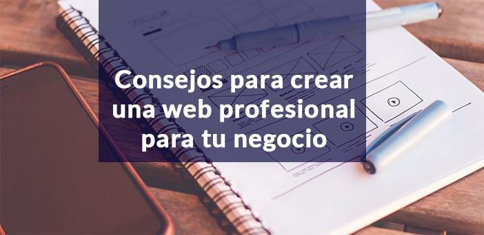 portada post consejos crear web profesional