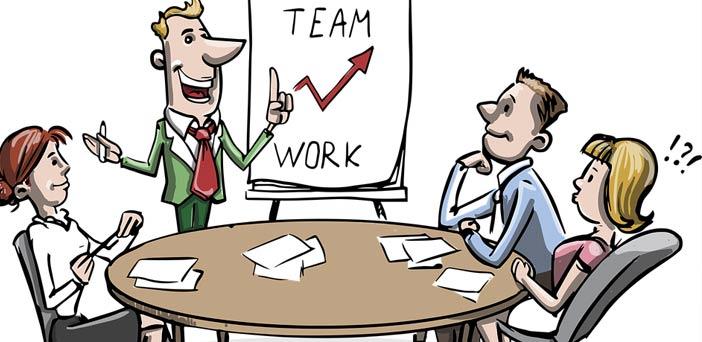 imagen reunion equipo de empresa