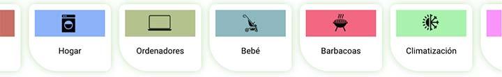Diversos productos que se pueden alquilar en YBY Gear