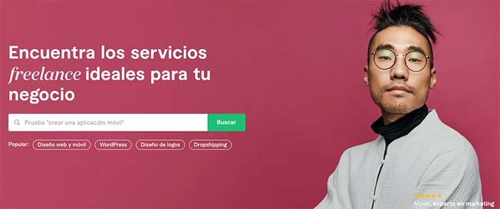 Freelancer plantaforma para venta de servios por internet