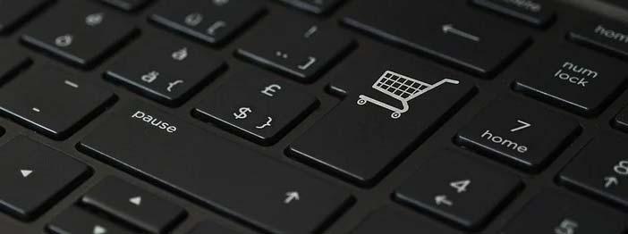teclado de ordenador donde vemos la importancia del copywriting en ecommerce