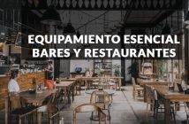 Equipamiento esencial para restaurantes