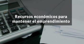 portada con rótulos recursos económicos para emprendedores