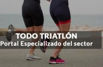 chicas corriendo triatlon con titulo post