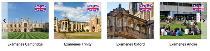 Certificados de idiomas de Examenexam