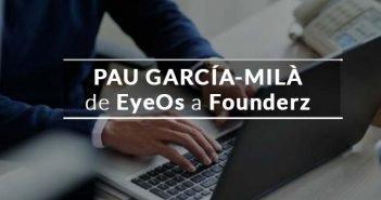 Portada imagen emprendedor con rótulo Pau García-Milà Founderz