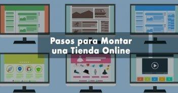 infografía y rotulo montar tienda online