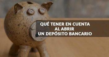 hucha ahorro abrir depósito bancario
