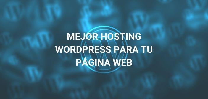 mejor hosting wordpress